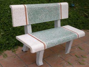 ghế đá granito
