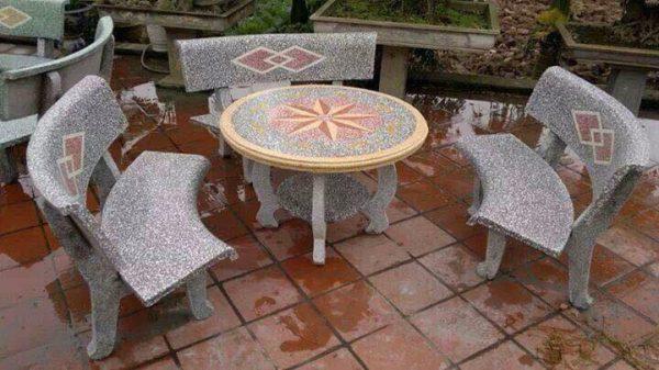 địa chỉ mua bàn ghế đá sân vườn