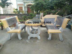 bàn ghế đá công viên hà nội