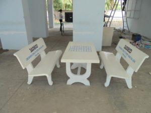 bàn ghế sân vườn mls45