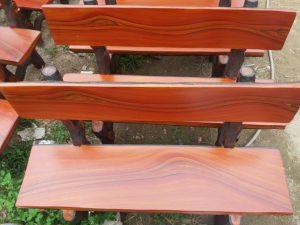 mua ghế đá giả gỗ
