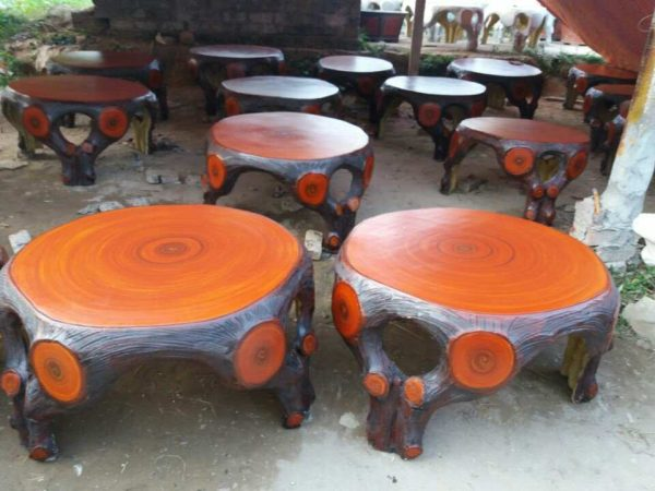 ghế đá giả gỗ mai lan
