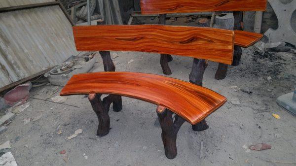 ghế đá giả gỗ giá bao nhiêu