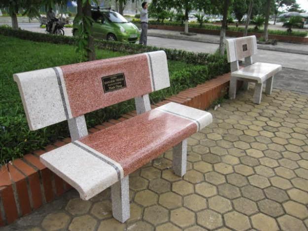 ghế đá công viên giá sỉ