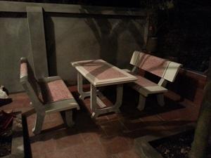 bàn ghế đá công viên giá sỉ hà nội