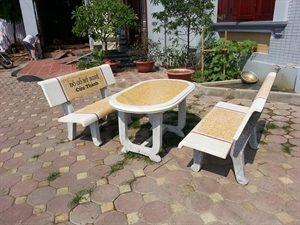 bàn ghế đá công viên giá sỉ hà nội 12