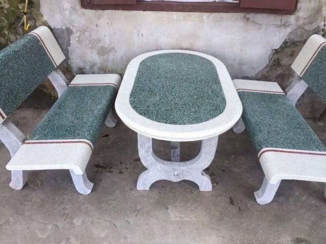 bàn ghế đá granito hà nội 1