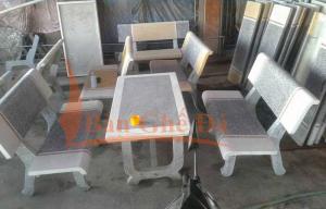 bàn ghế đá granito mai lan