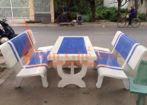 bàn ghế đá công viên giá sỉ