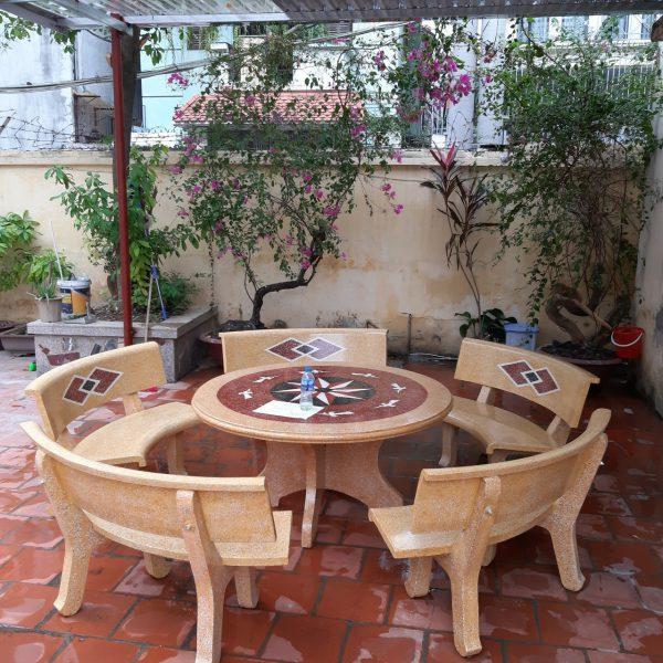 bàn ghế đá giá rẻ