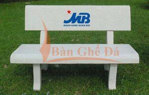 ghế đá in logo theo yêu cầu khách hàng