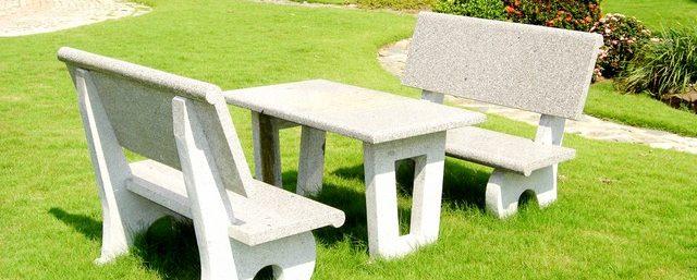 slide ghế đá sân vườn