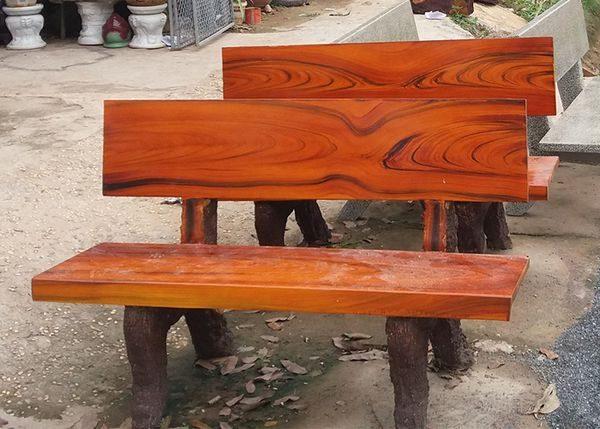 ghế đá giả gỗ giá rẻ