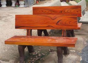 Cách làm ghế đá giả gỗ 2018