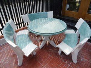 bộ bàn ghế sân vườn giá rẻ