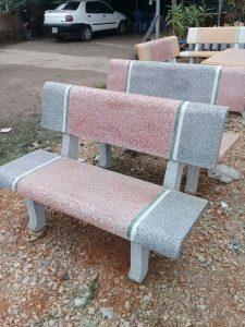 ghế đá mth