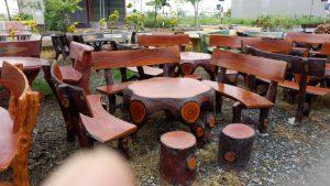 bàn ghế đá giả gỗ hà nội giá rẻ