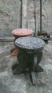 ghế đá tròn