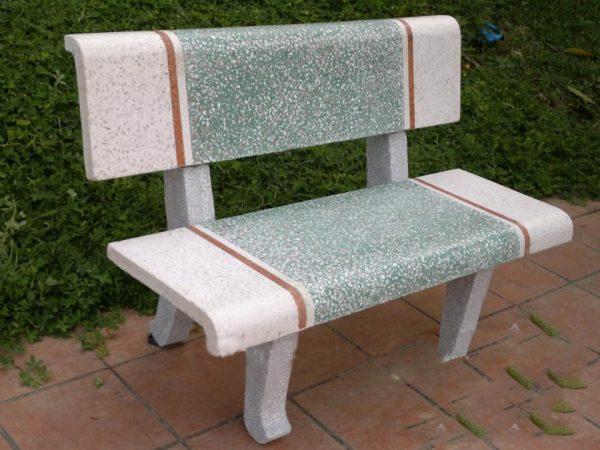 bàn ghế đá công viên nl11