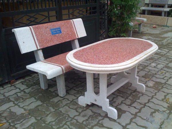 bàn ghế granito