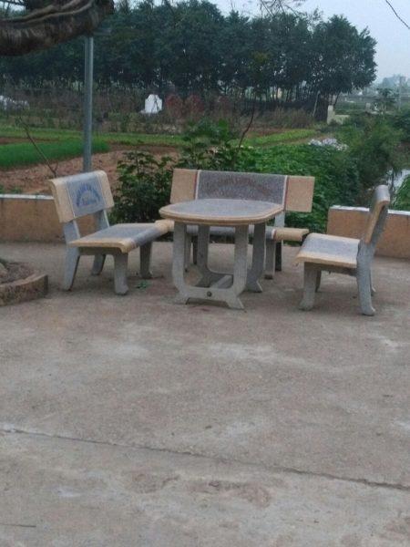 bàn ghế đá công viên đẹp 54
