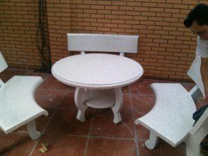 bàn ghế đá sân vườn đẹp