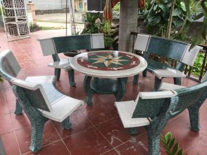 bàn ghế đá giá sỉ