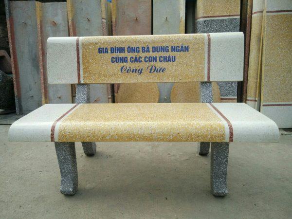 ghế đá công viên 90