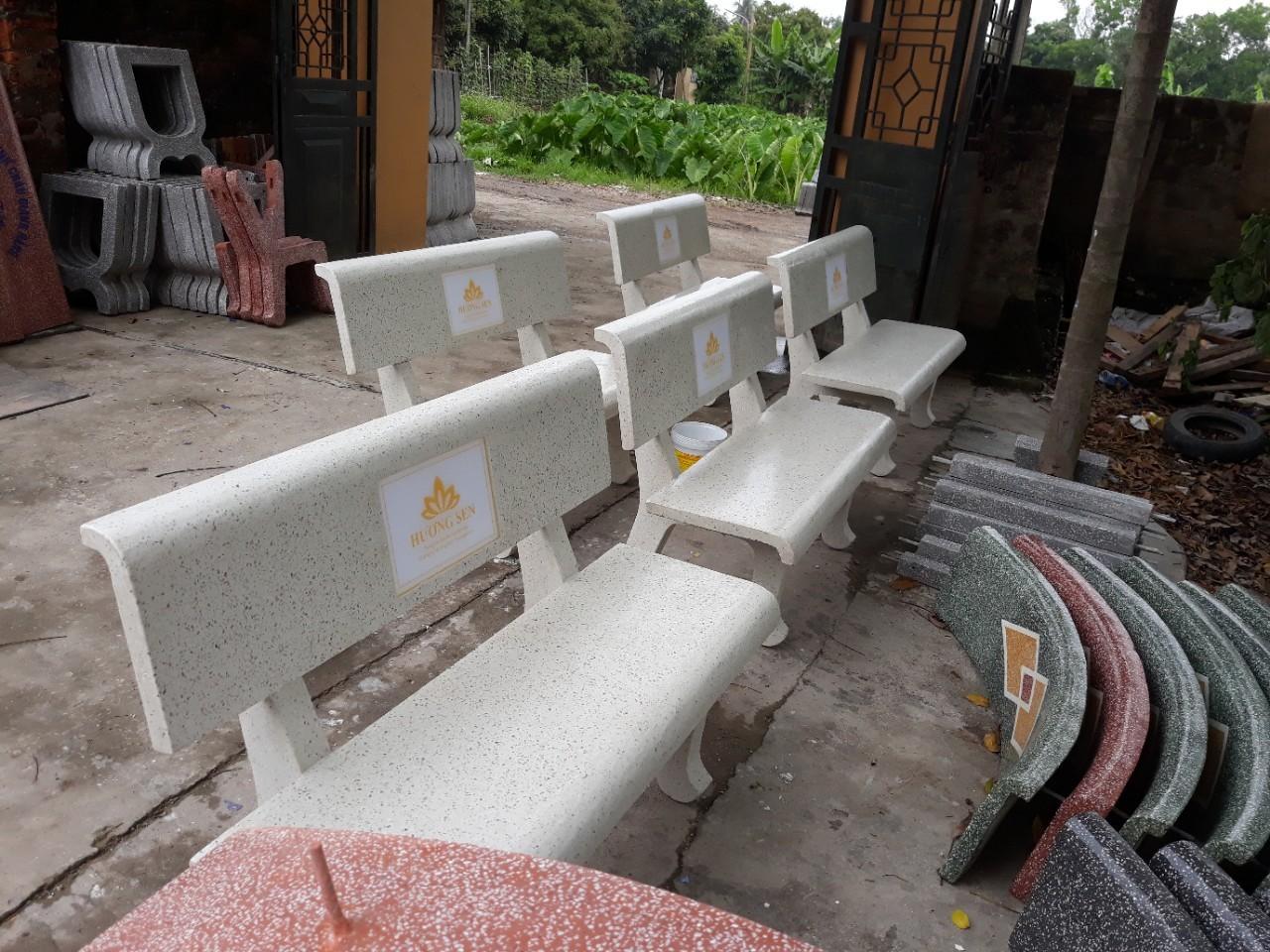 ghế đá công viên 345