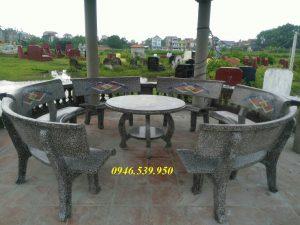giá bàn ghế granito rẻ