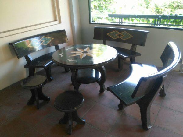 bàn bàn ghế đá tại nam định 1
