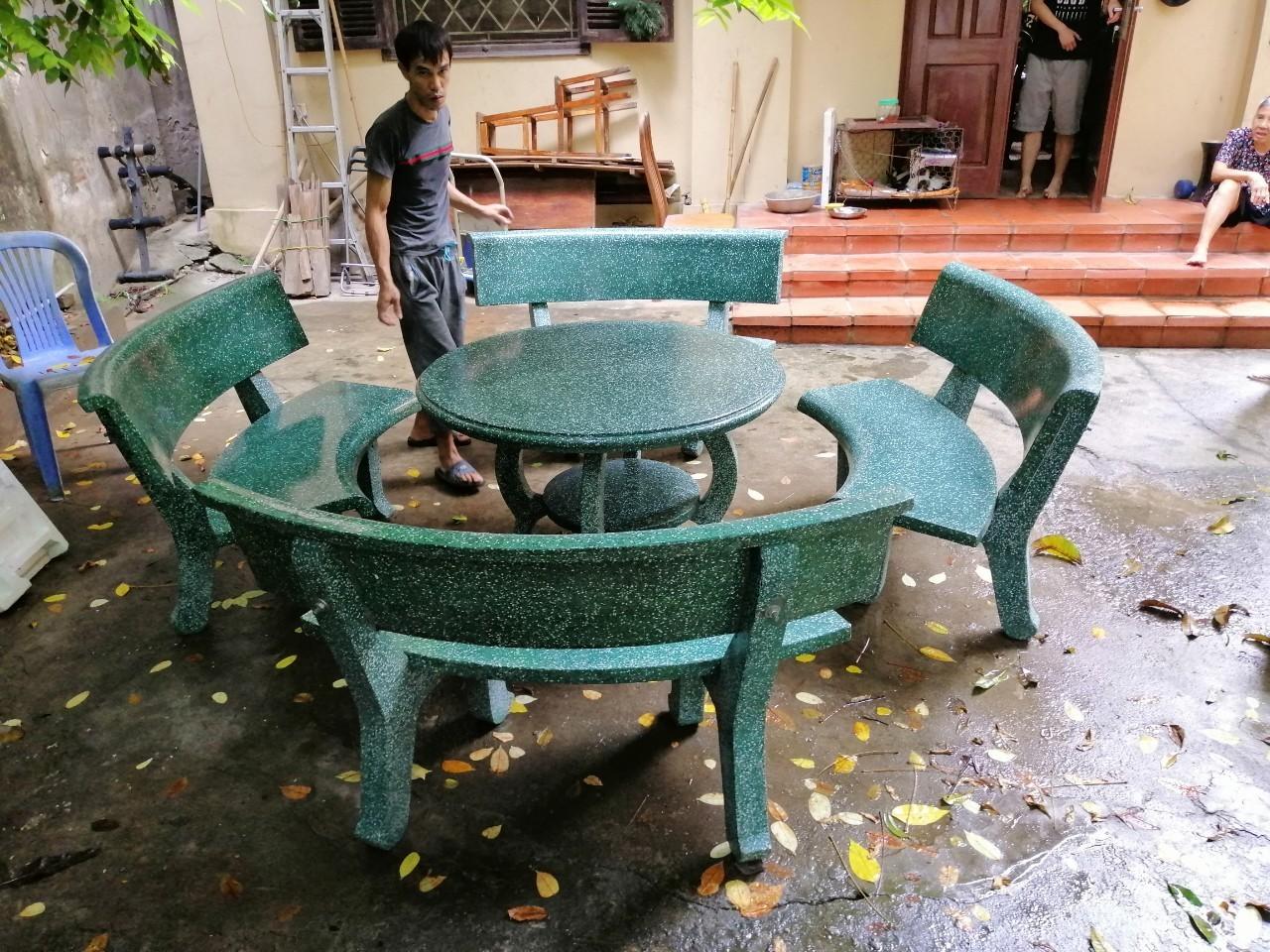 cung cấp bàn ghế đá nam định