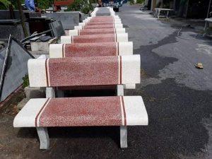 bàn ghế đá mai lan