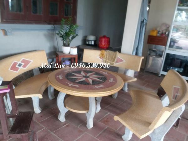 bàn ghế sân vườn bền đẹp