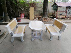 Địa chỉ bán ghế đá công viên giá rẻ nhất Hà Nội và khu vực phía Bắc