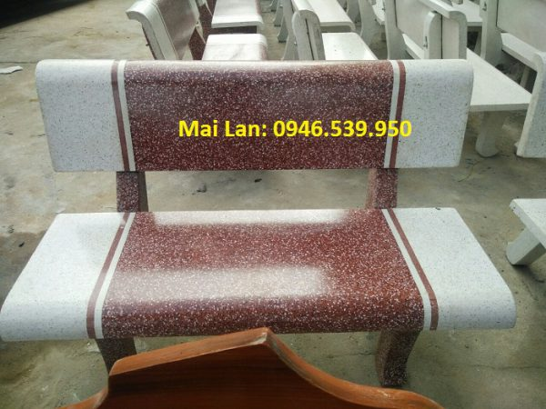 bàn ghế đá ml1