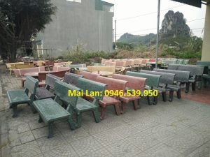 bán ghế đá 12