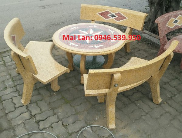 bàn ghế đá sân vườn rẻ