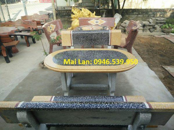 giá bàn ghế đá 1