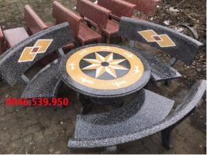 bàn ghế đá sân vườn