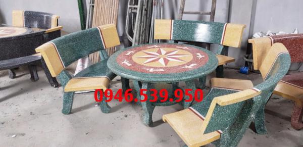 bàn ghế đá 05