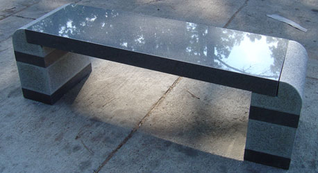 ghế đá granite